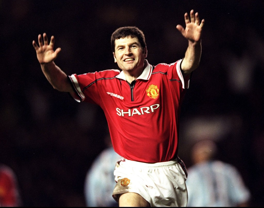 Man United v Boro Denis Irwin